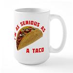 Serious! Large Mug