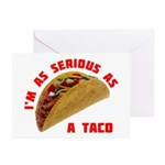 Serious! Greeting Cards (Pk of 10)