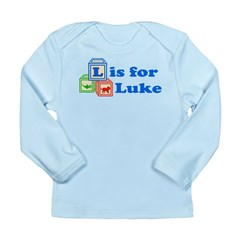 Baby Blocks Luke Long Sleeve Infant T-Shirt