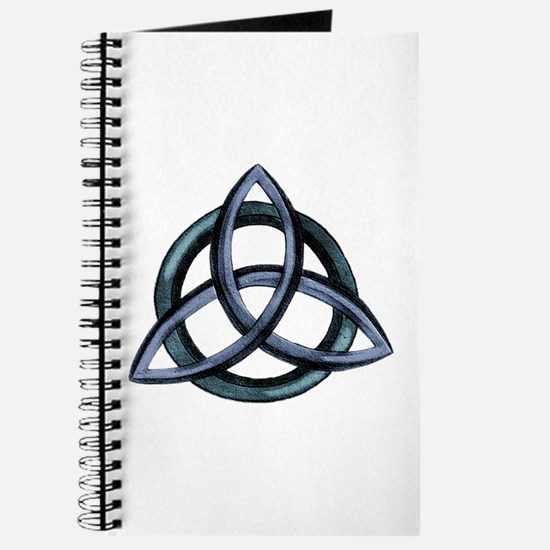 Triquetra Blue Journal