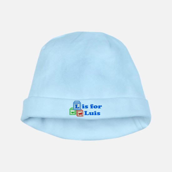 Baby Blocks Luis baby hat