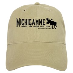Michigamme .com Baseball Cap