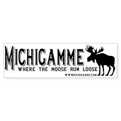 Michigamme .com Bumper Bumper Sticker