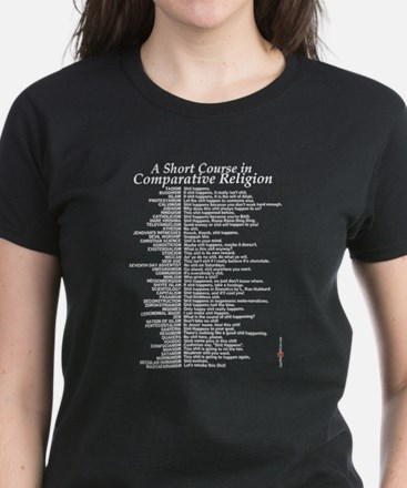 Comparative Religions Women's Dark T-Shirt