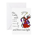 The Lady said: Greeting Cards (Pk of 10)