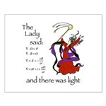 The Lady said: Small Poster