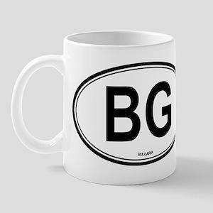 Bulgaria (BG) euro Mug