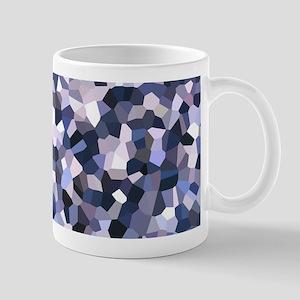 Purple Mosaic Pattern Mug