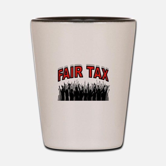 NO MORE IRS Shot Glass