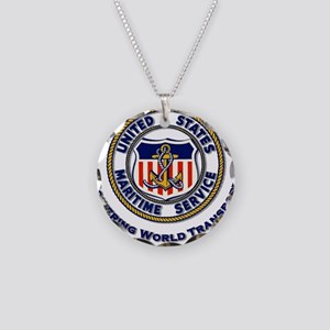 Powering World Transport Necklace Circle Charm