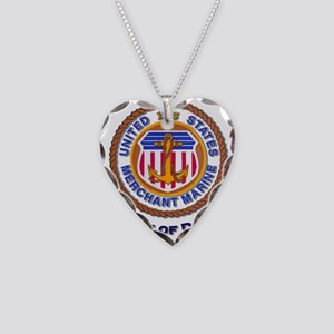 4th Arm of Defense Necklace Heart Charm