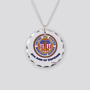 4th Arm of Defense Necklace Circle Charm