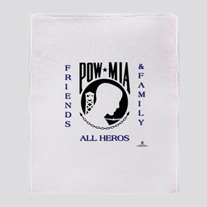 POW Friends and Family Throw Blanket