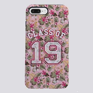 Class of 19 Floral Pink iPhone 7 Plus Tough Case