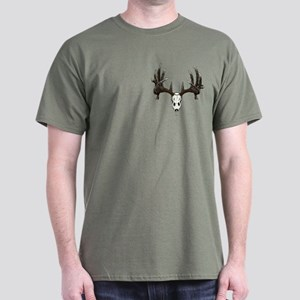 whitetail skull Dark T-Shirt