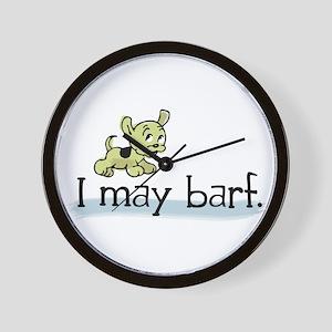 I may barf Wall Clock