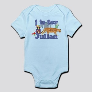 J is for Julian Infant Bodysuit