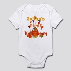 Julian's First Halloween Infant Bodysuit