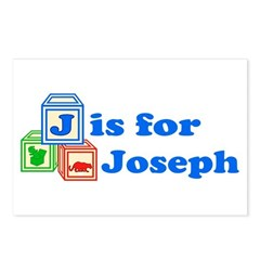 Baby Blocks Joseph Postcards (Package of 8)