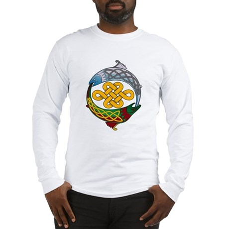 Celtic Salmon Long Sleeve T-Shirt