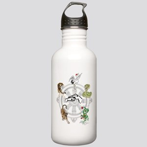 Martial Animal Styles Stainless Water Bottle 1.0L