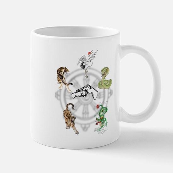 Martial Animal Styles Mug