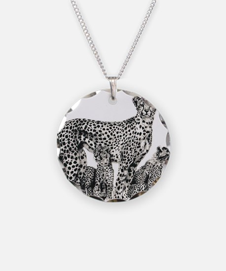 Funny Cheetah Necklace