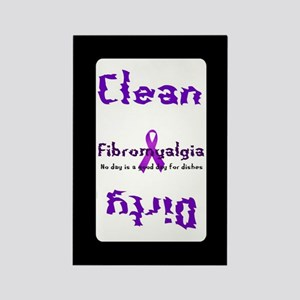 Fibromyalgia Clean/Dirty Magnets