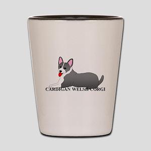 Cardigan Welsh Corgi Shot Glass