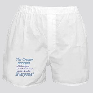 All Accepting Creator Boxer Shorts