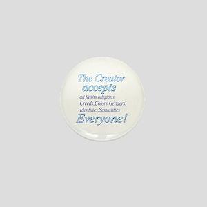 All Accepting Creator Mini Button