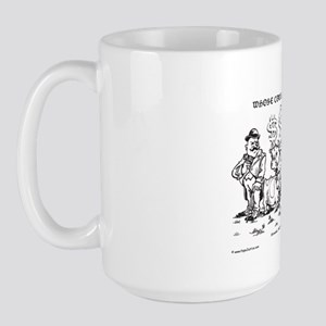 Whose Cow is it Anyway Large Mug