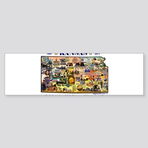 Images of Kansas, Celebrating Sticker (Bumper)