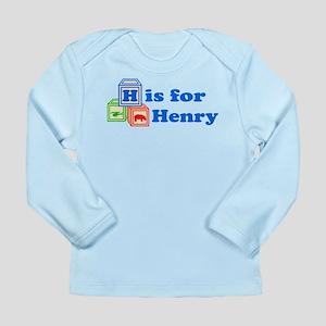 Baby Blocks Henry Long Sleeve Infant T-Shirt