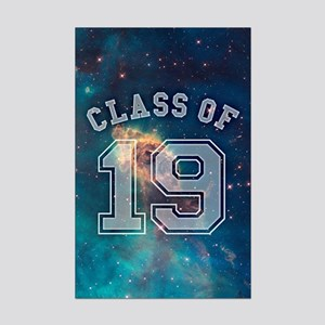 Class Of 19 Space Mini Poster Print