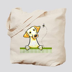 Yellow Lab Bee Nice Tote Bag