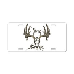 Deer slayer 1 Aluminum License Plate