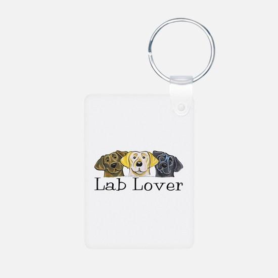 Lab Lover Trio Keychains