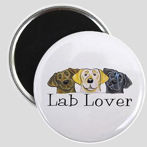 Lab Lover Magnet