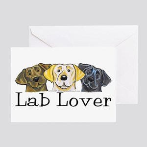 Lab Lover Greeting Card