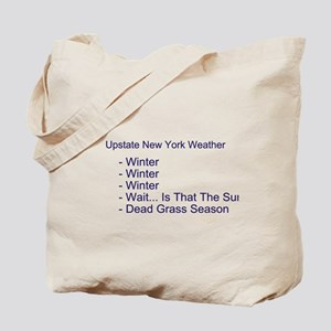 Upstate NY Weather Tote Bag