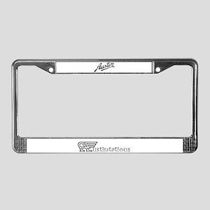 Austin License Plate Frame