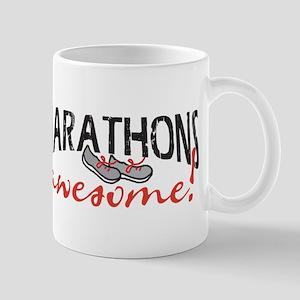 Marathons awesome! Mug