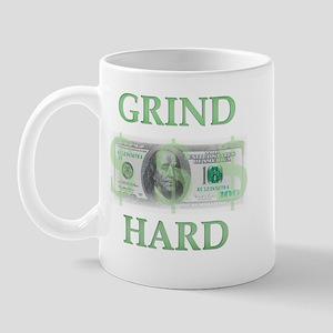 """Grind Hard"" Mug"
