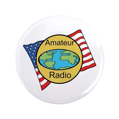"Amateur Radio 3.5"" Button"