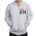 Anti Obama 2012 Zip Hoodie