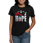 Anti Obama 2012 Women's Dark T-Shirt