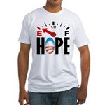 Anti Obama 2012 Fitted T-Shirt