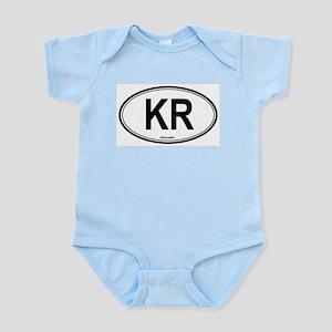 South Korea (KR) euro Infant Creeper