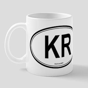 South Korea (KR) euro Mug